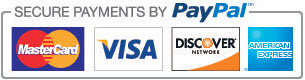 Powerdrive now accepts payments through credit card via Paypal.